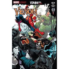 Venom (2016-) #160 Written by Mike Costa Art by Gerardo Sandoval Cover by Gerardo Sandoval VENOM INC. Part 5 Spider-Man and Venom continue their uneasy alliance as they work to stop Maniac from taking over New York's criminal underworld! It's outright mayhem as the heroes mount a counteroffensive and take the fight to Maniac! But with an unleashed symbiote and an army at his command will it be enough?! (Hint: Probably not True Believer!)