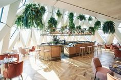 Burger Bar, Das Hotel, Restaurant, Table Decorations, Rooftop, Furniture, Home Decor, Rooftops, Decoration Home