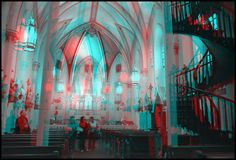 3D-image-anaglyph-church