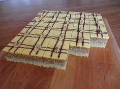 Výborný orechový zákusok s lineckým cestom. Czech Recipes, Russian Recipes, Baking Recipes, Cake Recipes, Dessert Recipes, Sweet Desserts, Sweet Recipes, Party Platters, Sweets Cake