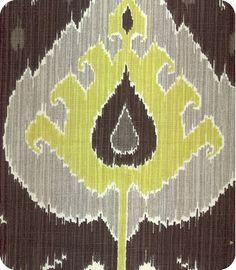 Ikat.597  fabric, lewis and sheron textiles