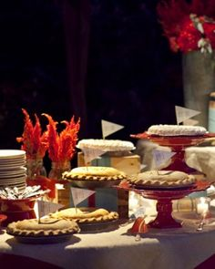"""See the """"Flagged Treats"""" in our Dessert Tables from Real Weddings gallery"""