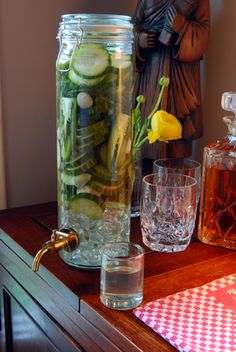 Dill Pickle Infused Vodka!  Bloody Mary anyone?!