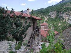 Monastery Philosophou (new), Lousios gorge, Arcadia
