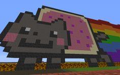 Minecraft Nyan Cat