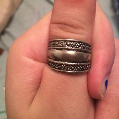 Sterling silver Sterling silver ring size 8-9 Jewelry