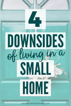 I love living small, don't get me wrong, but I want this blog to be a place where we discuss downsizing from ALL angles. Small House Living, Small House Plans, Simple Living, Tiny House, Small House Decorating, Small House Design, Minimalist Lifestyle, Minimalist Living, Downsizing Tips