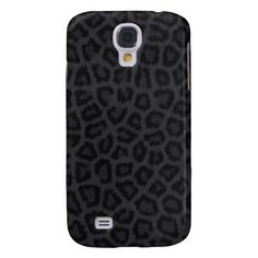 Black Panther Print Samsung Galaxy S4 Cases $42.95