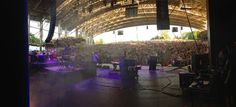 View from Backstage, CMAC, Canandaigua NY