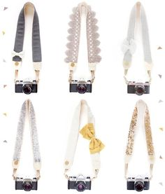 Bloom Theory Camera Straps | techlovedesign.com This Site has such cute camera Straps but your looking at spending $150 ish
