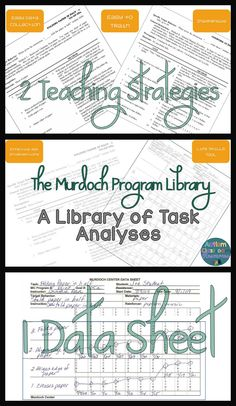 This is such a great tool for life skills classes and so inexpensive that I wanted to share it and some tips for using it in a classroom. Murdoch Program Library: A Great Tool for Teaching Life Skills from Autism Classroom Resources