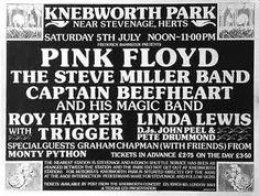 Pink Floyd at the 1975 Knebworth Concert..16