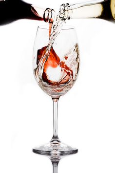 Red and White Wine Glasses | 2228014101_3d5a23b686