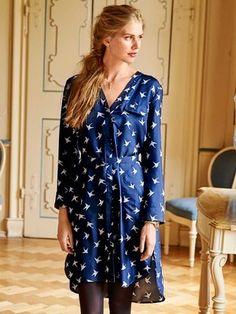 121 B-122015-B, burda style, Bluse, Kleid, Nähen
