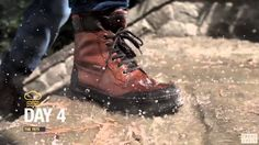 GEOX pone a un hombre bajo la lluvia durante una semana para probar la impermeabilidad de sus productos.  Eso es un #testdeproducto , aunque ¿Nadie se preocupa del ahorro de agua?  No os perdáis el video