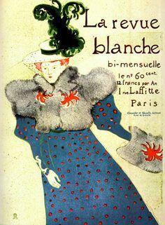 Henri De Toulouse-Lautrec | Henri de Toulouse-Lautrec, La Revue Blanche (The White Review), 1895