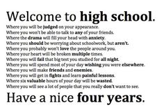 High School Quotes Sarcasm On  Pinterest  High School Quotes School Quotes And High