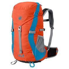 Jack Wolfskin Kids Kids Alpine Trail Rucksack Mango Orange 20 L ** Details can be found by clicking on the image-affiliate link. #OutdoorAccessories