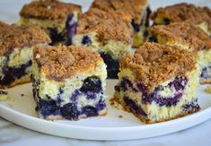 Blueberry Coffee Cake (aka Boy Bait) - Once Upon a Chef