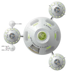 space stations on star trek - Google Search