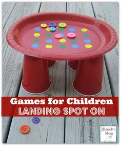 Simple household items and office supplies can be used to create games for children that will have them working on fine motor skills and having tons of fun. Fine Motor Activities For Kids, Fun Activities For Kids, Learning Activities, Games For Children, Toddler Games, Kid Games, Activity Ideas, Indoor Activities, Sensory Activities