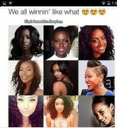 TheBahamianPrincess♚ Quit with the lightskin, brownskin, darkskin winning. We all win. Brown Skin Girls, Brown Girl, Black Girls Rock, Black Girl Magic, We Are The World, Black Barbie, Black Pride, Black Power, African Beauty
