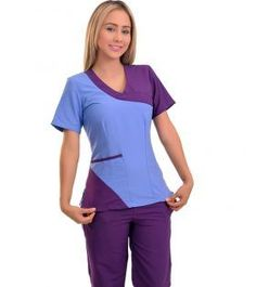 Cute Scrubs Uniform, Cute Nursing Scrubs, Scrubs Outfit, Scrubs Pattern, Stylish Scrubs, Underwear Pattern, Iranian Women Fashion, Medical Uniforms, Womens Scrubs