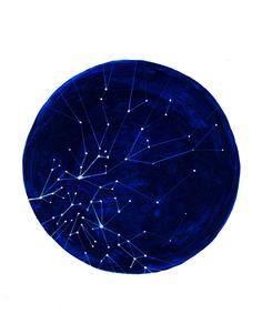 Spring Constellation Print.