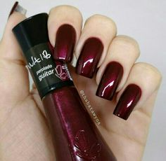 Date night ♡ Date night ♡ Related Posts Manicure and Pedicure Pairings Pedi IG: Clássica❤ Pedicure Tools For Picture Perfect Nails – Just 7 Tools Required Perfect Nails, Gorgeous Nails, Pretty Nails, Amazing Nails, Dark Nails, Red Nails, Nails Polish, Burgundy Nails, Red Burgundy