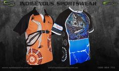 Have your next team uniforms customised with aboriginal designs. Perfect for all Indigenous sports groups.