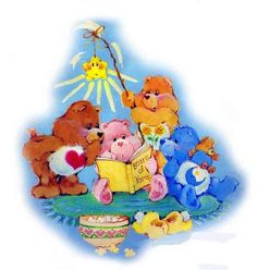 Care Bears: Late Night Reading with Tenderheart, Cheer, Friend & Bedtime Bear