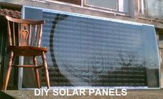 How I built 2KW DIY solar panels out of empty pop-cans...