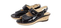 Emily Hallux Wedge Ladies Bunion Sandals