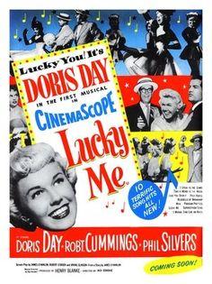 doris day  movie posters   AP224 - Lucky Me, Doris Day, Musical Movie Poster (30x40cm Art Print)