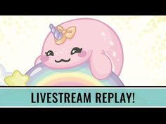 LIVESTREAM REPLAY : Baby Narwhal [Illustrator Twitch Stream Timelapse] - YouTube