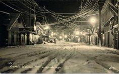 Photo: Snowy street scene | Juneau Alaska