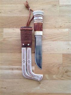 Sami knife by Lars Levi Sunna, Sweden