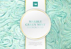 Green mint marble background and texture with vector image on VectorStock Vintage Grunge, Mint Background, Vector Background, Background Banner, Marble Bed Set, Girls Bedspreads, Green Alcohol, Marble Chocolate, Beach Wall Murals