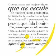 Escutar - Rubem Alves