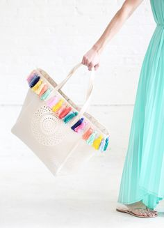 DIY Pastel Tassel Be