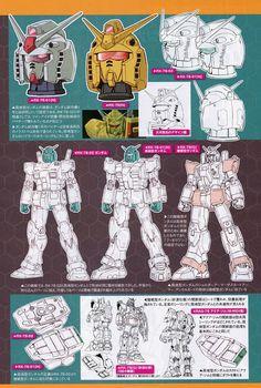 Mobile Suit Gundam The Origin: Mechanical Archives - Image Gallery Robot Series, Battle Bots, Japanese Robot, Robot Illustration, Zeta Gundam, Gundam Mobile Suit, Gundam Art, Robot Design, Mechanical Design