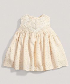 Girls Welcome to the World Cream Layered Dress Mamas And Papas, Nursery Furniture, Summer Kids, Prams, Layers, Layering, Diapers, Children Furniture
