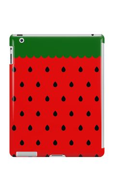 iPad Cases & Skins - strawberry, fruit, cute, retro, vintage, pin up, 50s, kawaii, lolita, lollita