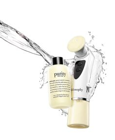 paired with purity made simple cleanser, this lightweight cleansing massager offers ultimate deep-cleansing and texture-refining treatment that hand-washing just can't provide.