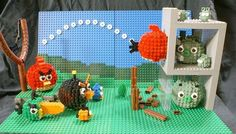 Lego_Angry Birds Scene