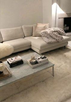 Home Living Room, Living Room Designs, Living Room Decor, Home And Deco, Dream Rooms, Minimalist Home, House Rooms, Home Decor Inspiration, Decor Ideas