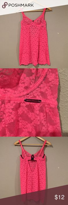 Betsey Johnson intimates top. In very good condition this Betsey Johnson intimates nighty had very little wear and is ready for a new home. It has a built in bra with unwire. Betsey Johnson Intimates & Sleepwear