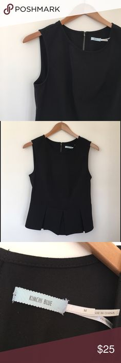 Kimchi Blue Peplum By Kimchi Blue at Urban Outfitters. The perfect sassy look. Pair with jeans and pumps! Urban Outfitters Tops Blouses