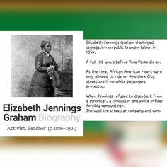 Elizabeth Jennings Graham.