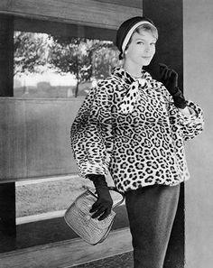 Jacket by Lanvin Castillo, 1957. Photo by Philippe Pottier